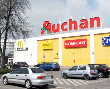 Торговый центр Ашан в Гданьске