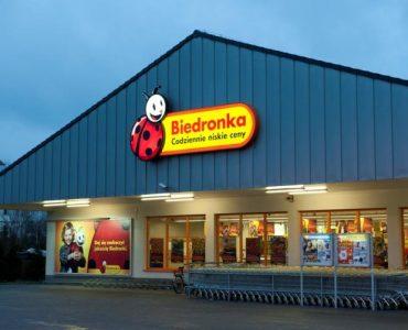 Супермаркет Biedronka в Эльблонге