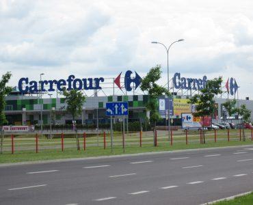 Супермаркет Carrefour в Ольштыне