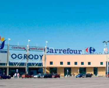 Супермаркет Carrefour в Эльблонге