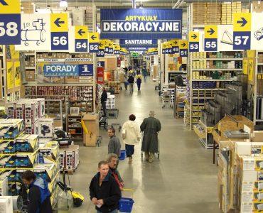 Строительный гипермаркет Castorama в Гданьске