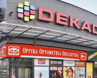 Торговый центр DEKADA в Ольштыне
