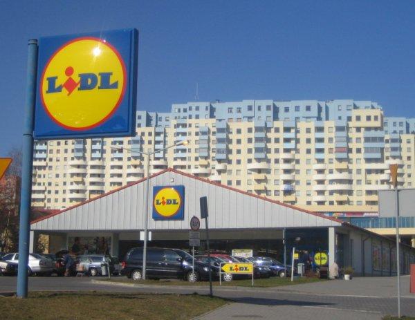 Супермаркет LIDL в Бранево