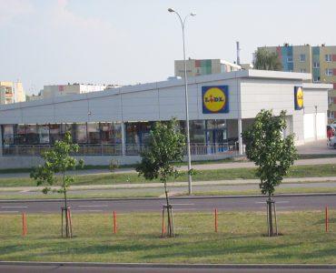 Супермаркет Lidl в Гданьске