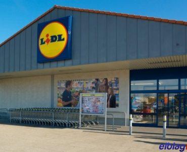 Супермаркет LIDL в Эльблонге