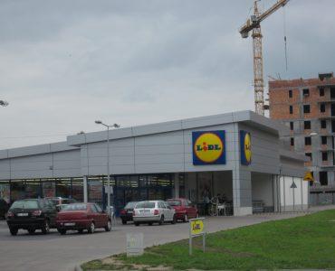 Супермаркет LIDL в Бартошице
