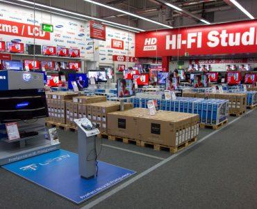 Магазин бытовой техники Media Markt в Ольштыне