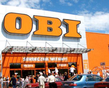 Строительный гипермаркет OBI в Гданьске