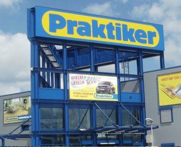 Строительный магазин Praktiker в Ольштыне