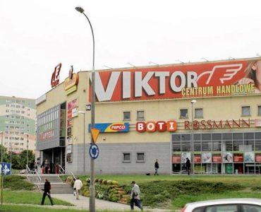 Торговый центр Viktor в Ольштыне