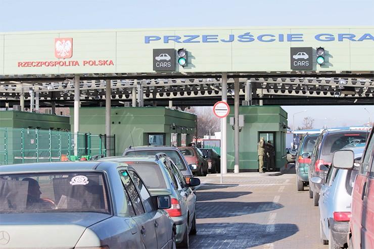 В Польшу на машине
