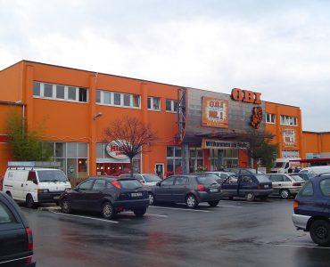 Строительный магазин OBI в Гдыне